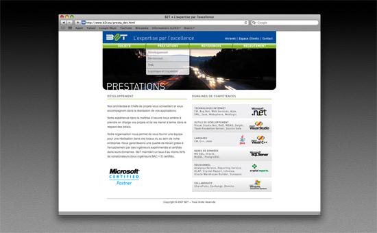 Site internet B2T