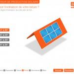 Interface graphique des bornes interactives de Solaire Direct