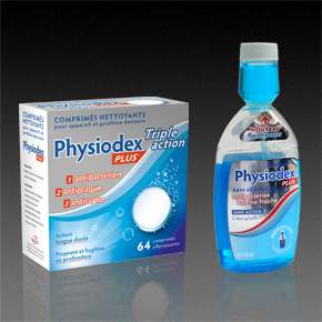 Packagings Physiodex Plus