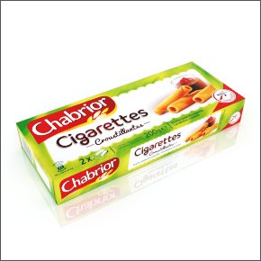 Cigarettes croustillantes Chabrior