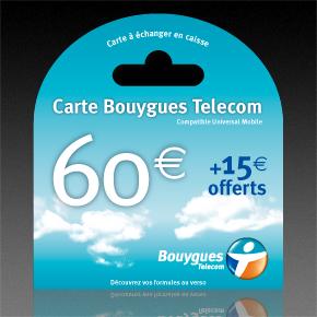 Carte Bouygues Telecom