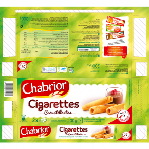 CHABRIOR Cigarettes développé