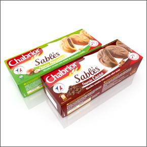 Boites de biscuits sablés Chabrior