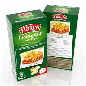 Boite de lasagnes Fiorini